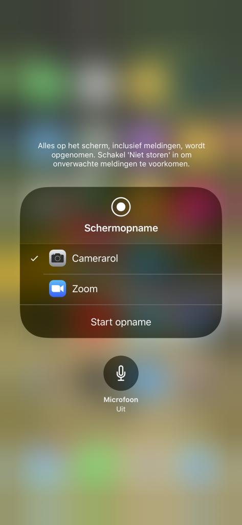 schermopnames maken iphone