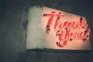 Meer dan een bedankje: zet je bedankpagina slimmer in